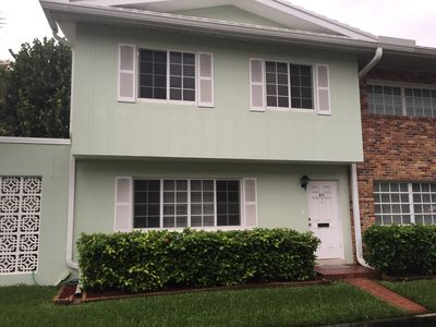 Photo for Ocean Front Community 3 BR Townhouse Direct Beach and Pool Access