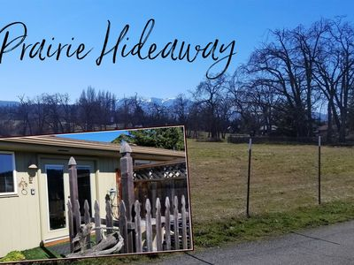 Photo for Romantic hideaway in the heart of Sequim
