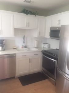 Brand new kitchen with convection, cooktop, ice maker, new appliances