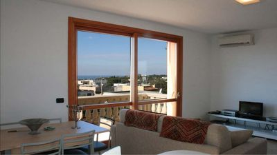 Photo for Well equipped three bedroomed apartment with views only 15 min walk from beach.