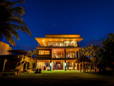 Photo for Ocean Front Estate McCasa # 3, Hermosa Palms, Playa Hermosa