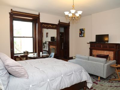 Photo for Harlem Salon - A gracious studio apartment close to Central Park and Columbia U.