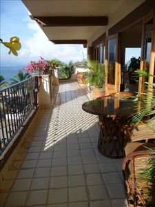 Photo for Oceanfront Condo Huge Wrap Around Terrace in Zona Romantica!