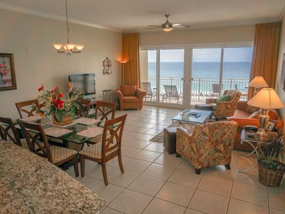Photo for Beachfront - RENOVATED 3BR/2BA - Free Beach Service - 'Ocean Dreams' Condo
