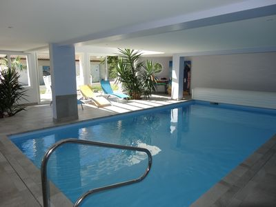 Photo for Gite located Oree Forest Pool with int. heated.