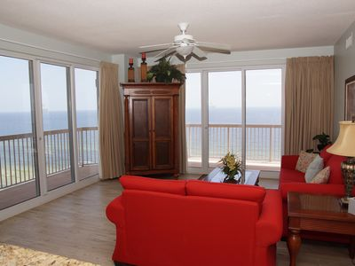 Photo for Sunrise Beach End Unit! Full 3 BR/3 BA end unit with wrap around balcony!