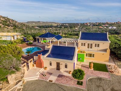 """Photo for Modern """"cunucu"""" Villa surrounded by Nature"""