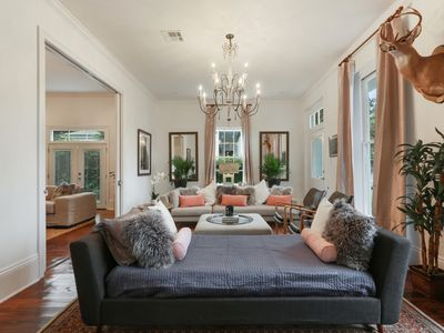 Photo for Stayloom's Enchanting Garden District Home | Pool, Hot Tub
