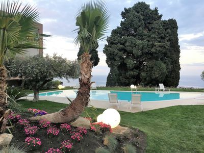 Photo for Mon Repos Avenir Mina - Taormina - Apartment with swimming pool, parking