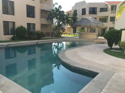 Photo for Pool Level 2 Bed 2 Bath Mexican Style Condo