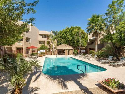 Photo for Ground Floor, Great Location, on Golf Course, & Heated Pool