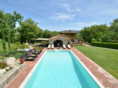 Photo for Sestuccia is a beautiful Tuscan villa just a short distance from Gaiole in Chianti