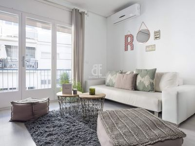 Photo for Be Apartment - Beautiful luxury apartment with chill out area. 2 bedrooms and 2 bathrooms. Located in one of the most beautiful areas of Sitges.