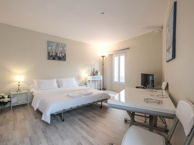 Photo for Charming studio in the famous Le Suquet district