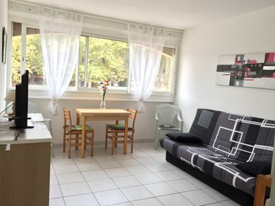 Photo for BEAUTIFUL STUDIO IN THE HEART OF THE CAP D'AGDE STATION AND 500 FROM THE BEACH