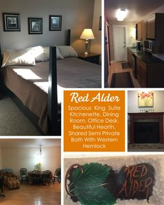 Photo for Red Alder Suite- Triple Tree Suites