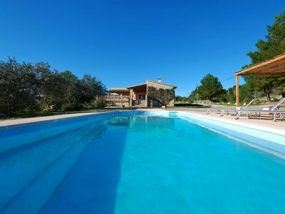 Photo for Aguila: modern but rustical Finca with pool, air condition and internet