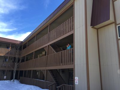 Photo for Large Ski Condo just minutes from the mountain