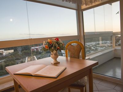 "Photo for Beachfront studio apartment FB10. 05 in the house ""Fresh breeze"" with sea views"