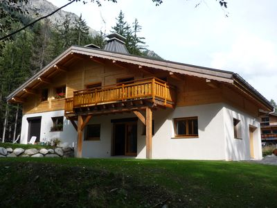 Photo for Argentiere rental, Country of Mont Blanc, warm Apt for 5 people