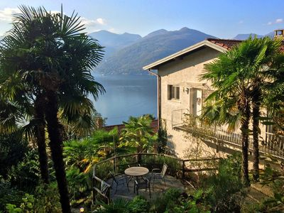 Photo for Fantastic view over Lake Maggiore