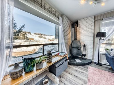 Photo for NEW LISTING! Newly updated condo w/ kitchenette - ski-in/ski-out!