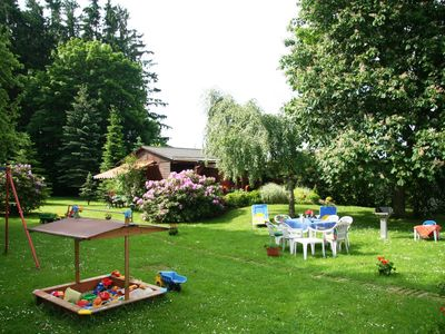 Photo for Detached holiday home in the Franconian Forest with a large and idyllic garden