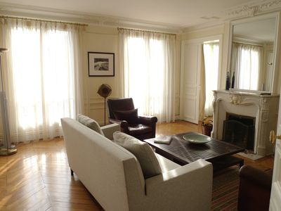 Photo for Gorgeous 2 BR Apartment – Balcony – Walk to Opera & Montmartre