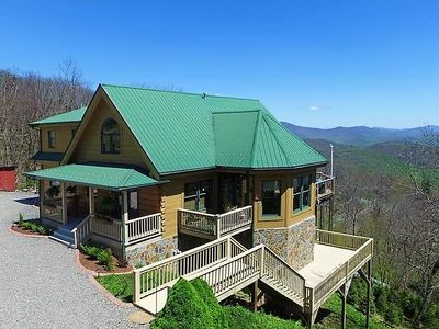 Photo for TOP OF BOONE Amazing VIEWS*Hot Tub*Game Tables* Firepit*Near Downtown