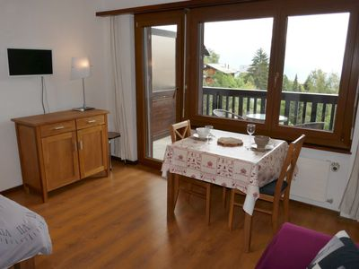 Photo for Apartment Anémone 20 in Nendaz - 2 persons, 1 bedrooms