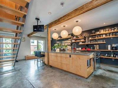 Photo for Bright Industrial Home with Parking and Patio