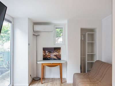 Photo for Cozy studio with A/C and garden near the beaches of Nice – Welkeys