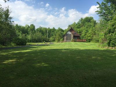 Photo for Winsome Windham - Secluded Chalet with Ski Windham Views
