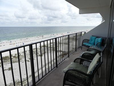 Photo for Disinfected- Gulf Shores, Alabama GULF FRONT CONDO 2bd/2ba 1000sf Ready to rent.