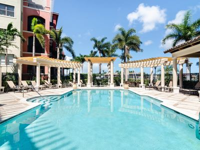 Photo for Esplanade 201: 3  BR, 2.5  BA Condominium in Marco Island, Sleeps 8