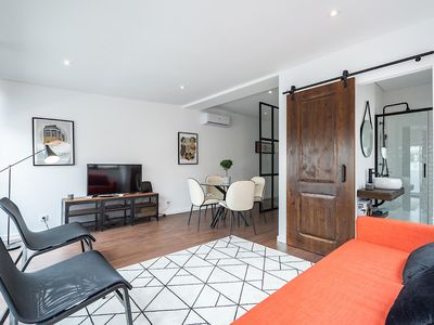 Photo for Currant Apartment, Wifi, AC, Terrace