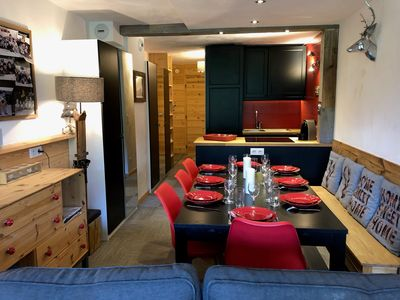 Photo for 3BR Apartment Vacation Rental in Bourg-Saint-Maurice, Auvergne-Rhône-Alpes