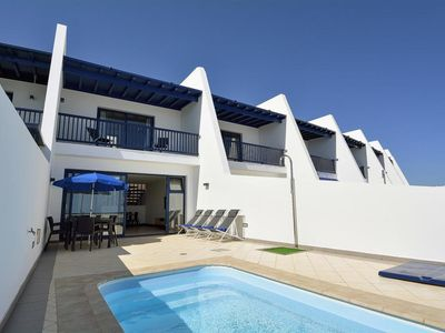 Photo for Terraced house, Puerto Calero  in Lanzarote - 3 persons, 3 bedrooms