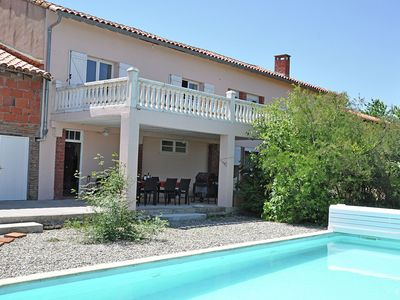Photo for Villa with heated swimming pool and spectacular view in diverse surroundings