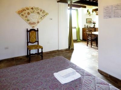 Photo for Nice apartment for 4 people with hot tub, WIFI, TV, balcony, pets allowed and parking
