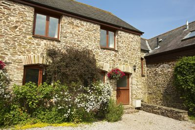 Front of Larches Cottage