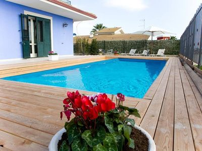 Photo for 5 bedroom Apartment, sleeps 14 with Pool, Air Con and FREE WiFi