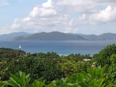 View of Tortola from Deck
