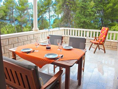 Photo for Apartment Gajo, (14144), Mirca, island of Brac, Croatia