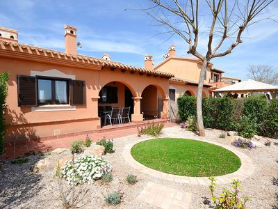 Photo for Lovely 2 bed villa with community pool - BBQ