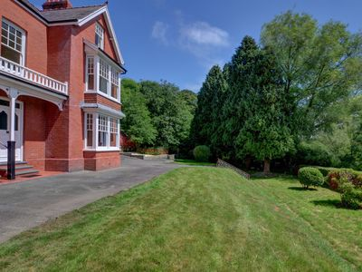 Photo for A spacious Victorian semi-detached riverside property, situated near the village of Llanilar, 5 mile
