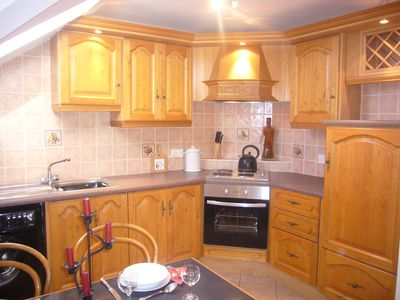 Fully fitted kitchen/diner