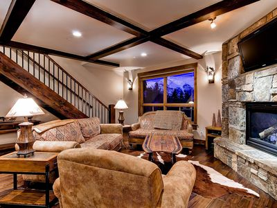 Photo for Retreat at Lewis Ranch: Luxury Home Next To Ski Lift With Hot Tub & Shuttle