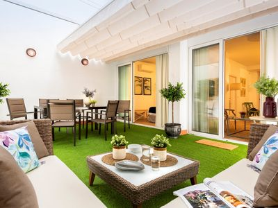 Photo for 2 Bedroom Apartment with private Patio. Baños I