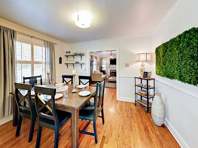 Dining Room - Your TurnKey rental combines the amenities of a boutique hotel with the comforts and privacy of your own home.